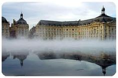 Bordeaux - Mirroir d'eau - Place de la Bourse