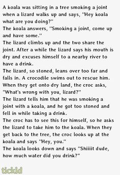 He was high in a tree getting high  // funny pictures - funny photos - funny images - funny pics - funny quotes - #lol #humor #funnypictures