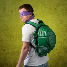 Teenage Mutant Ninja Turtles Backpack with Masks I always wanted one of these!!!!!!:)