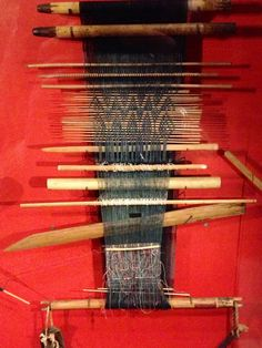 Loom collection at the Pitt Rivers Museum #pittrivers