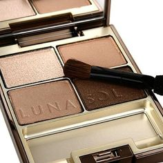 Lunasol Eye Shadow Skin Modeling Eyes 01 Beige Beige ** Click image to review more details. (This is an affiliate link) #EyeMakeup