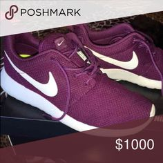 ISO this exact same Nike roshe size 9 or 9.5 women Can someone please help me find this exact same nikes in women size 9 or 9.5 or in men's size 7-8. I've tried a lot of sites but I haven't been able to find any or maybe any store that stil has them in stock?!! Thanks Nike Shoes Athletic Shoes