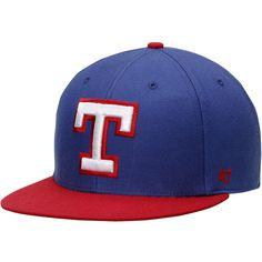 Texas Rangers '47 Cooperstown Big Shot Snapback Adjustable Hat - Royal