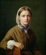 Constantin Hansen (1804-1880): Portrait of Christianne Kobke