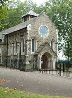 Old St Pancras Church, London. It is dedicated to the Roman martyr  St Pancras and thought to be the oldest sites of Christian worship in England. Thought to be from 314 AD