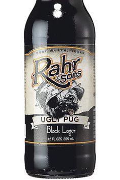 Rahr & Sons Ugly Pug Black Lager