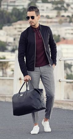 One great thing about men's fashion is that while most trends come and go, men's wear remains stylish and classy. However, for you to remain stylish, there are men's fashion tips you need to observe. Outfits Casual, Stylish Mens Outfits, Mode Outfits, Men Casual, Herren Outfit, Mode Streetwear, Gentleman Style, Mode Style, Men's Style
