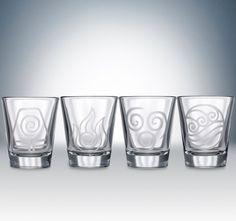 Avatar Nations shotglass set