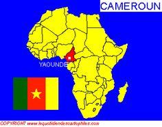 La situation géographique du Cameroun