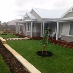 Hamptons style new home build, Melbourne