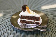 RECETA CON ACEITE IDEAL  Torta de zanahorias con cobertura de queso crema