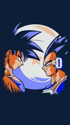 Goku & Vegeta #dbz
