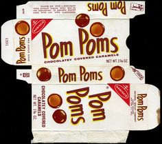 My sister was jr mints, I was always a PomPoms girl! Retro Candy, Vintage Candy, Vintage Toys, Vintage Stuff, My Childhood Memories, Sweet Memories, 1970s Childhood, School Memories, Retro Recipes