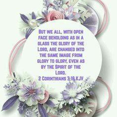 2 Corinthians 3:18 (KJV)