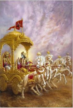 BHAGAVAD GITA (Mahabharata) - 700-verse scripture that is part of the ancient Hindu epic, the Mahabharata - a conversation between Lord Krishna and Prince Arjuna on the battlefield before the start of the Kurukshetra War drawing on Yogic & Vedanta philosophies.