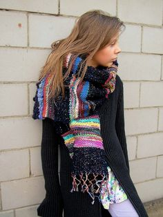 Weaving form my handspun   by B.eňa