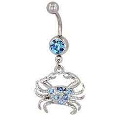 beach belly ring