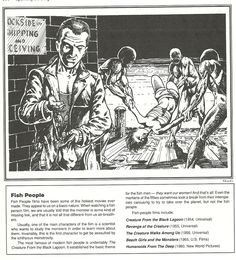 """Spawn of the Deep,"" from Blood Brothers!: Chaosium's book of horror movie-influenced Call of Cthulhu scenarios. Blood Brothers, Horror Monsters, Call Of Cthulhu, Spawn, Horror Movies, Gaming, Deep, Books, Movie Posters"