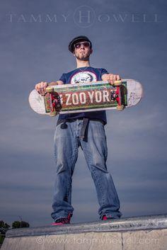 Louisville Senior Pictures Skateboard Outdoor (3)