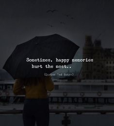 Quotes deep - LIFE QUOTES Sometimes, happy memories hurt the most —via… Quotes Deep Feelings, Hurt Quotes, New Quotes, Mood Quotes, Happy Quotes, Positive Quotes, Life Quotes, Deep Dark Quotes, Famous Quotes