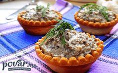 Тарталетки — рецепт приготовления с фото Muffin, Breakfast, Food, Muffins, Hoods, Meals, Cupcake, Cup Cakes