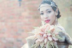 Golden 20s Great Gatsby Wedding Inspiration Shoot
