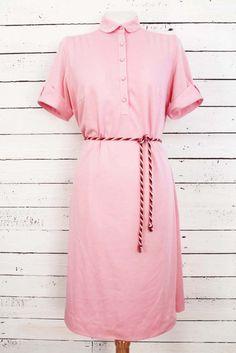sweet as sugar! #pinkvintage dress www.sugarsugar.nl