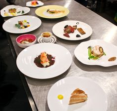 The dishes of Pascal Barbot