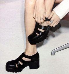 Chunky Gladiator Shoes