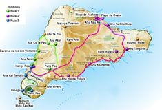 Mapa Turistico Isla de Pascua Easter Island Travel, Easter Island Moai, Famous Places In France, Tourist Map, Map Globe, Quotes About Photography, Natural Phenomena, Island Beach, Cool Places To Visit