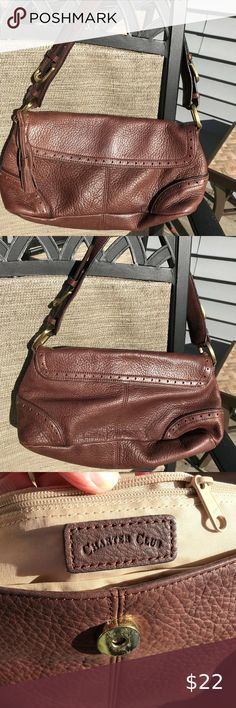 Shop Women's Charter Club Brown size OS Hobos at a discounted price at Poshmark. Description: Very good condition; smoke-free home. Measurements: tall wide deep strap drop Sold by kfojc. Purses And Handbags, Leather Purses, Smoke Free, Drop, Club, Best Deals, Closet, Things To Sell, Closets