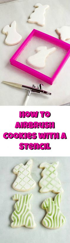 How-to-Hold-an-Airbrush-Gun-when-using-a-Stencil-by-thebearfootbaker.com