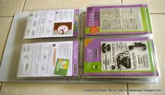 Great storage binder by Gayatri!..martha stewart folders..se