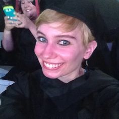 Repost from @litzilitzo via @igrepost_app: OUR COMMENCEMENT SPEAKER TOLD US TO ALL TAKE A SELFIE AT THE SAME TIME #thinkbiggrad
