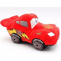 Pelucia Disney Pixar Carros Relâmpago McQueen