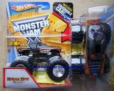 2013 Hot Wheels Monster Mutt Rottweiler Monster Jam Truck 1/64 from J Case #HotWheels #MONSTERJAM