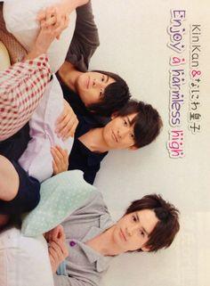 KinKan : Mukai Koji, Kaneuchi Toma, Hirano Sho