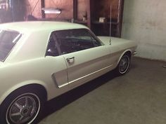Ford : Mustang Base V-8 Coupe with Factory Air 1965 Ford Mustang 1 Owner V-8 66K Original Miles!!  Garage Kept with Papers!!! - http://www.legendaryfind.com/carsforsale/ford-mustang-base-v-8-coupe-with-factory-air-1965-ford-mustang-1-owner-v-8-66k-original-miles-garage-kept-with-papers/