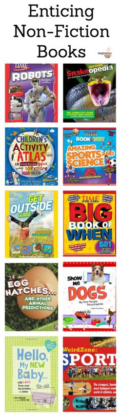 Why Kids Need to Read Non Fiction Books + Recommended Book List