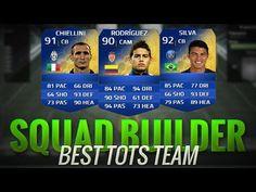 FIFA 14 BEST TOTS TEAM w/ RODRIGUEZ + CHIELLINI   FIFA 14 SQUADRA DI TOTS