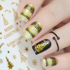 Dry Nail Polish, Dry Nails, Holiday Nail Art, Christmas Nail Art, Christmas Nail Stickers, Nail Hardener, Star Nails, Nail Art Tools