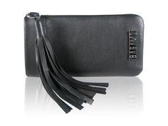 """Handytasche nach Maß """"PENNY"""" Lederhülle für Iphone Smartphonetasche mit Quaste Echtleder Bronze, Handarbeit"""
