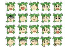 The many faces of Yotsuba