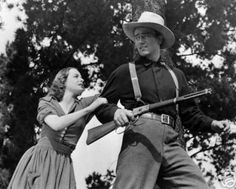 Betty Field and John Wayne in The Shepherd of the Hills 1941