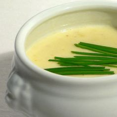 Sour Cream Soup from the Austrian Burgenland