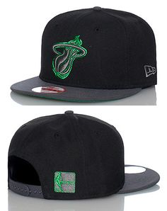 9b4ab55ac4 NEW+ERA+Miami+Heat+NBA+snapback+cap+Adjustable+