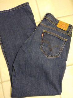 0df25c8fedc Levi's Women's 529 Curvy Bootcut Jeans Size 12 #Levis #529CurvyBootcut Levis,  Jeans Size