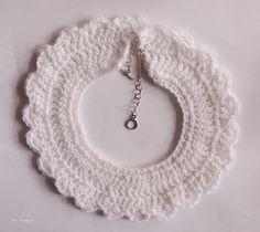 ice pandora: DIY: Crochet Collar