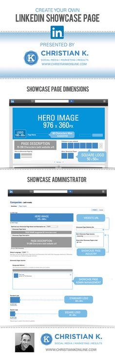 How the new LinkedIn Showcase Pages work. Great post if you manage your company's LinkedIn page. #socialmedia #infographic