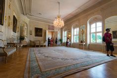 OPEN DOOR AT THE PRESIDENTIAL PALACE - The Reception Salon